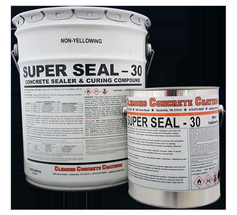 Superseal30 Gloss 5 Gallon Brickpaversealer Com